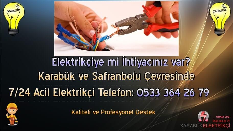 Karabük Elektrikçi 0533 364 26 79